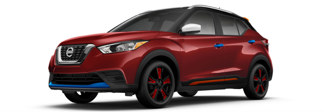Explore Standard and Available 2018 Nissan Kicks Exterior ...