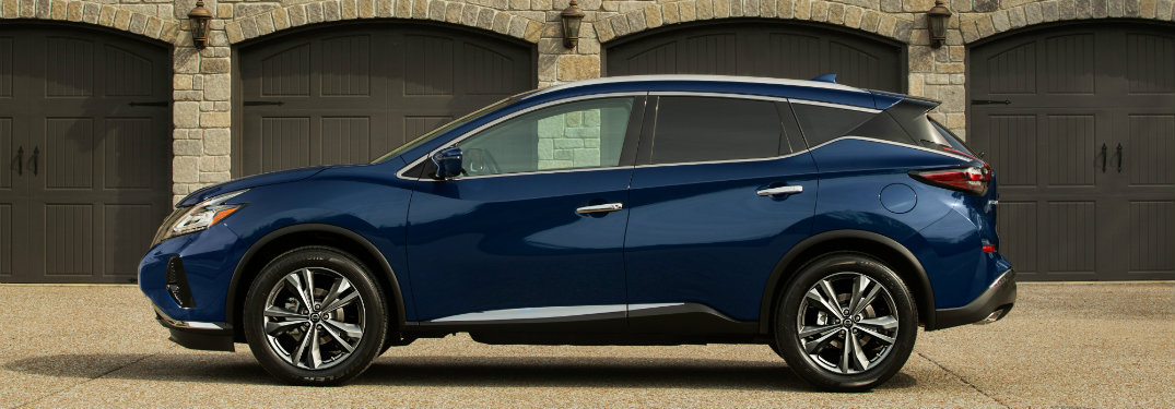 2019 Nissan Murano seen from the side