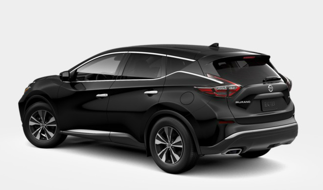 2019 Nissan Murano Color Options - Exterior and Interior
