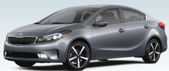 2018 Kia Forte Color Options