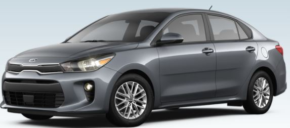 2018 Kia Rio Color Options