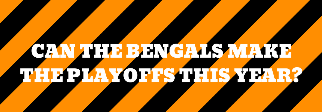 can the bengals make the playoffs this year?