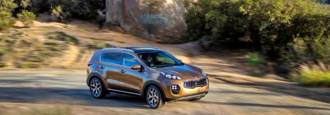 How many configurations are available for the 2019 Kia Sportage?