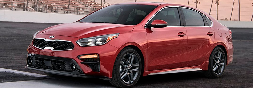 2019 Kia Forte parked in a lot
