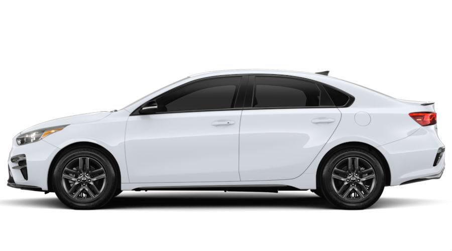 2020 Kia Forte Clear White