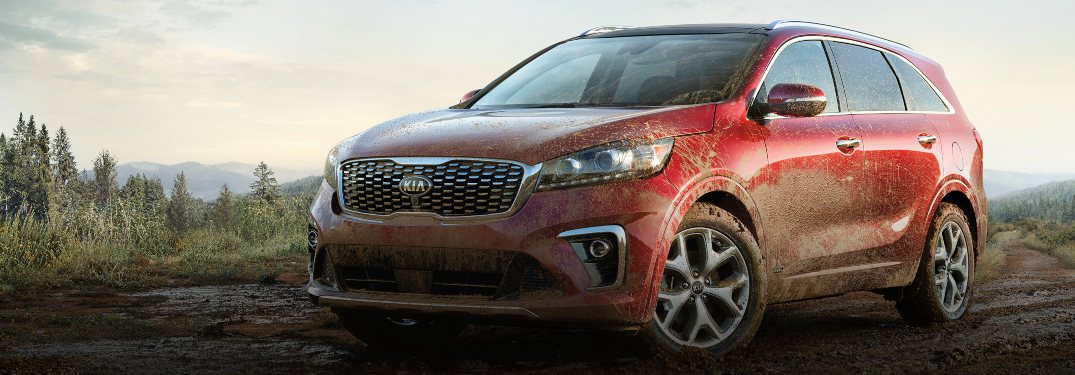 2020 Kia Sorento driving off-road