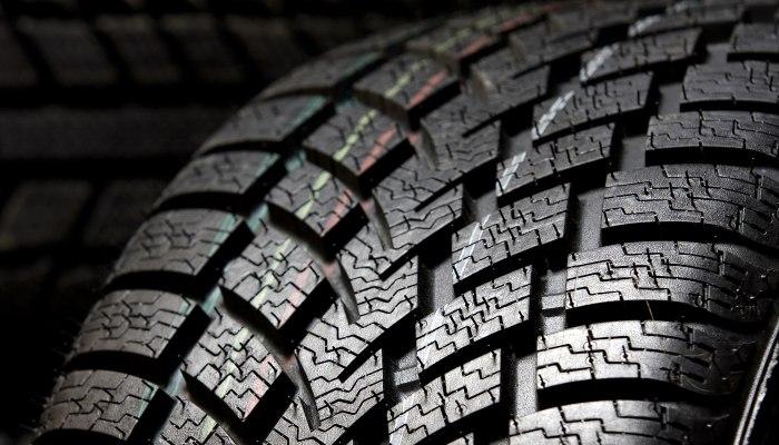 Tire close-up