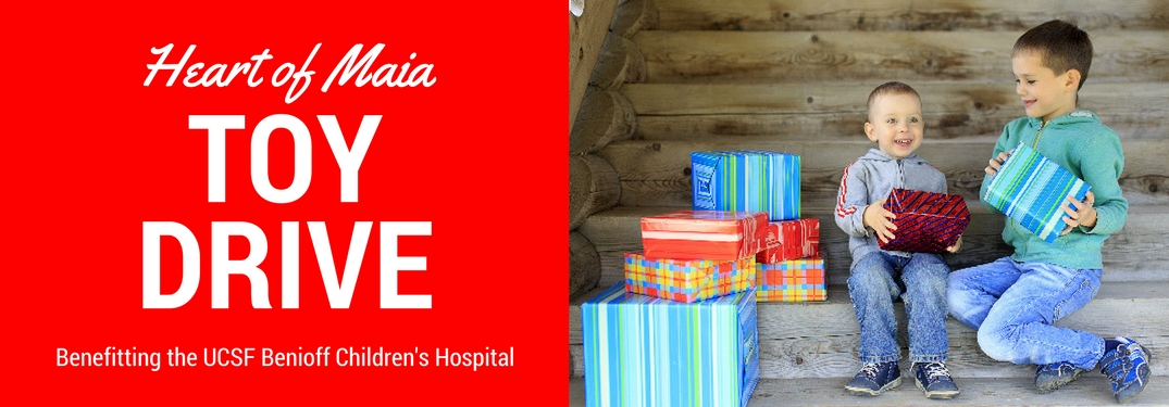 Marin Acura Heart of Maia UCSF Benioff Children's Hospital Toy Drive