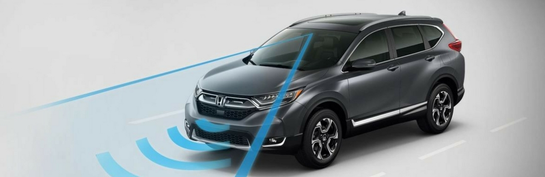 Honda Sensing with Collision Mitigation Braking System™