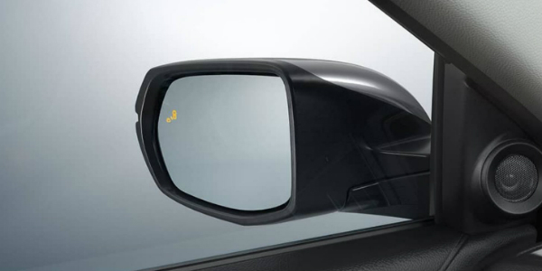 Blind Spot Information Warning Light on the 2018 Honda cR-V