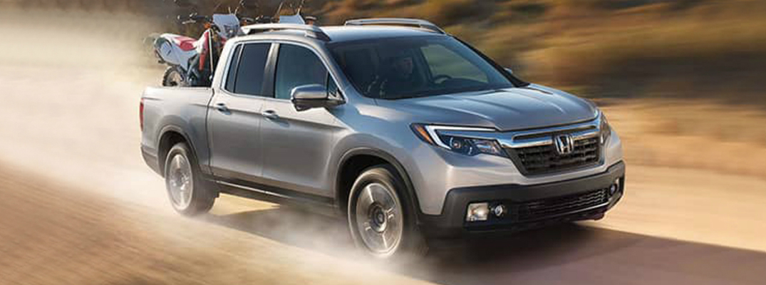 2018 Honda Ridgeline Driving Through the Desert
