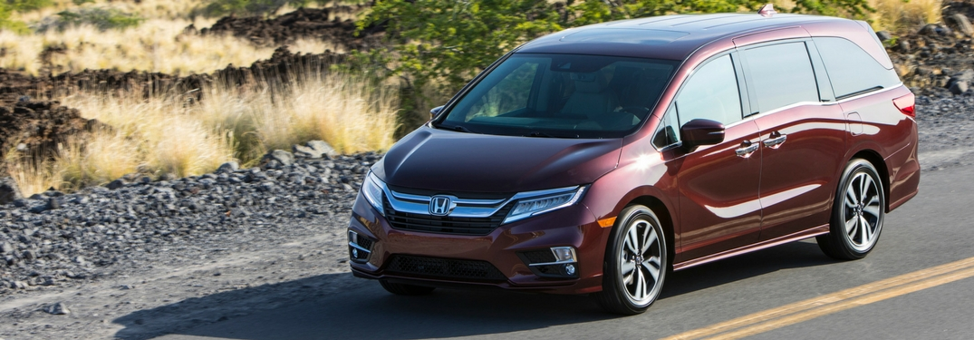 Take a Closer Look at the New 2019 Honda Odyssey!