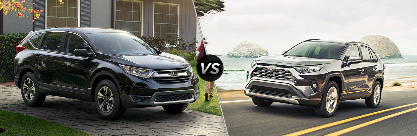 How Does the 2019 Honda CR-V Compare to the 2019 Toyota RAV4?