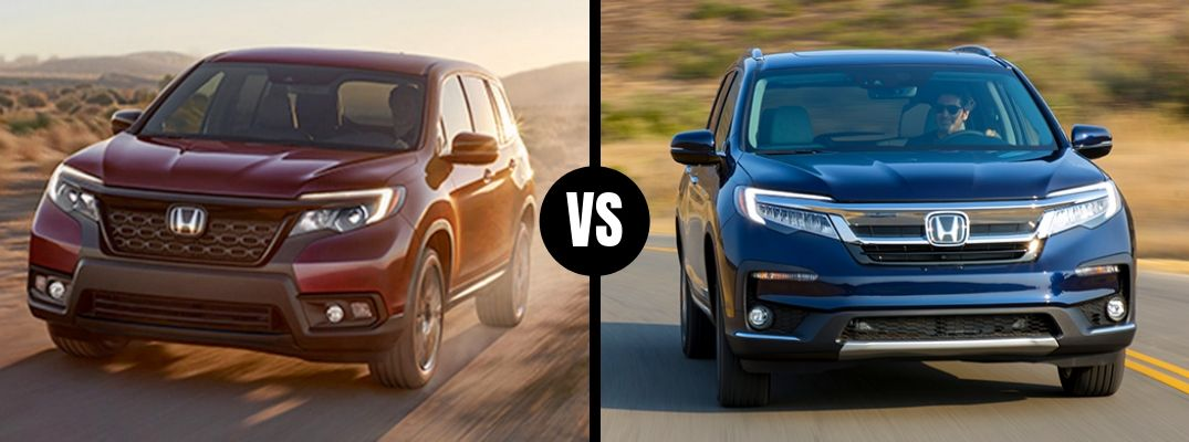 What are the Differences Between the 2019 Honda Passport and the 2019 Honda Pilot?