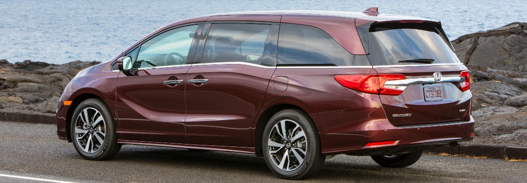 What Is The 2020 Honda Odyssey Cargo Room And Seating Like