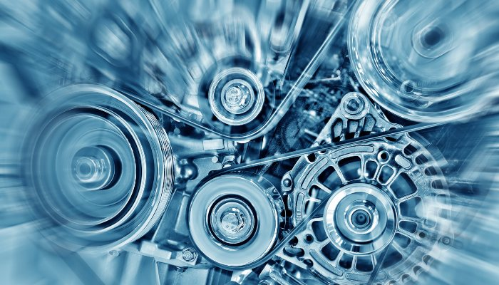 Engine interior components
