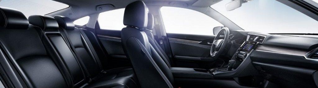 2020 Honda Civic Sedan interior