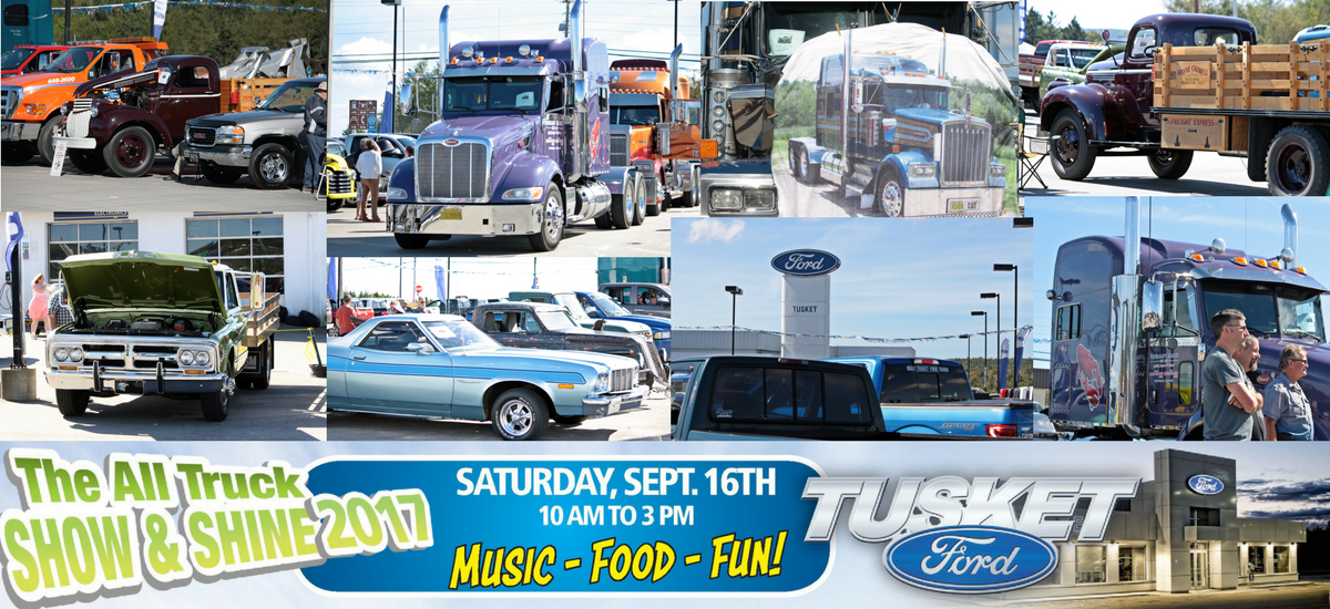 The Tusket Ford All Truck Show & Shine is Coming Up