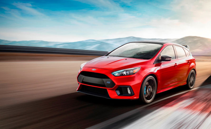 The 2018 Ford Focus RS Limited Edition: Fast and Fun! - Tusket Ford