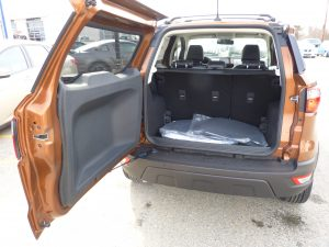 Ford EcoSport Open Hatch