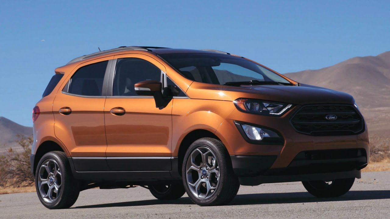 Ford EcoSport is the Crossover You've Been Looking For