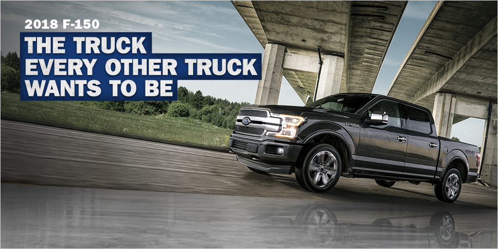 Get $1,000 Worth of Accessories with Your 2018 F-150