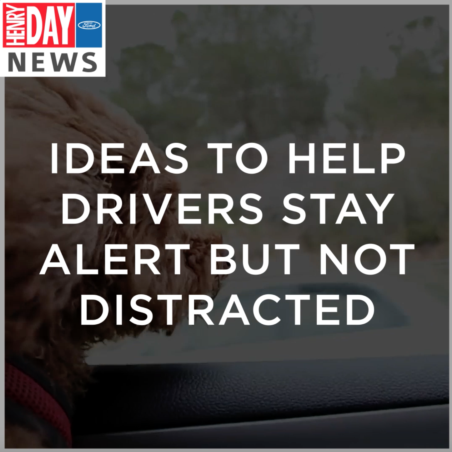 Ideas to Help Drivers Stay Alert but Not Distracted