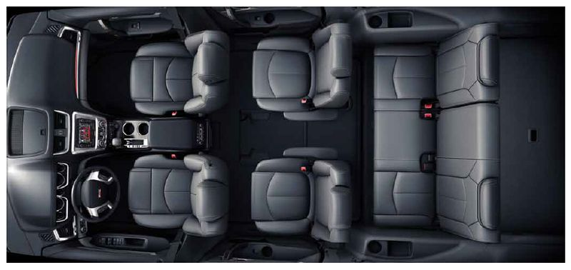 Suv With A Spacious Third Row Of Seating