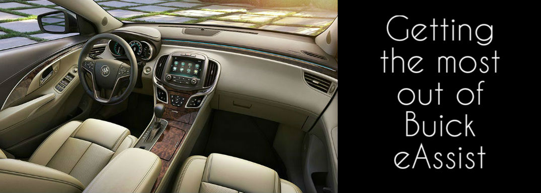 Using Buick LaCrosse eAssist
