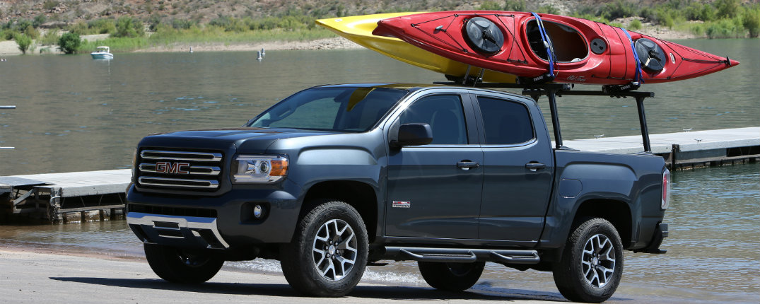 Gmc Canyon Towing Capacity >> What S New On The 2016 Gmc Canyon