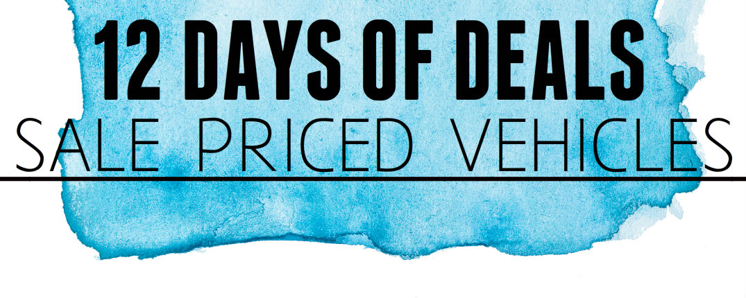 12 days of sale priced vehicles