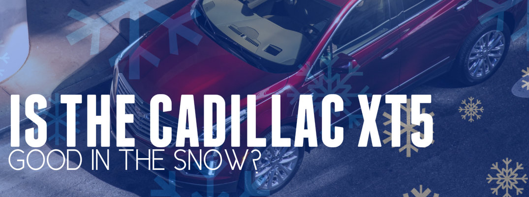 How Does the 2017 Cadillac XT5 Handle In Snow?