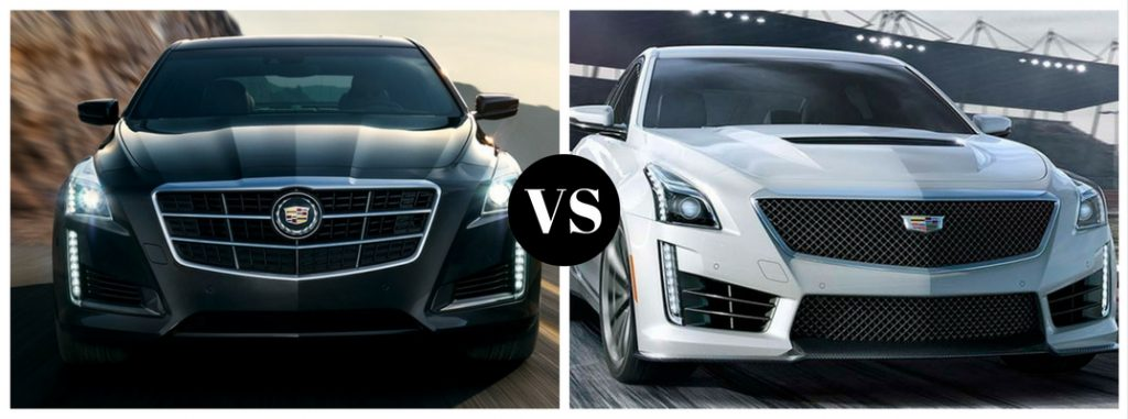 What's the Difference Between the CTS and CTS-V?