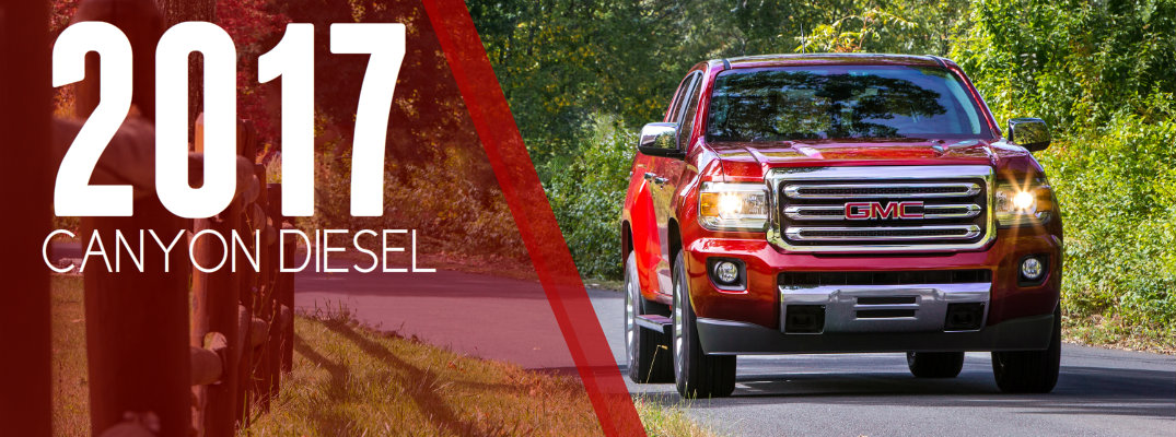 2017 GMC Canyon Diesel Engine Specs & Features