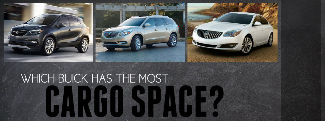 Which Buick Has the Most Cargo Space?