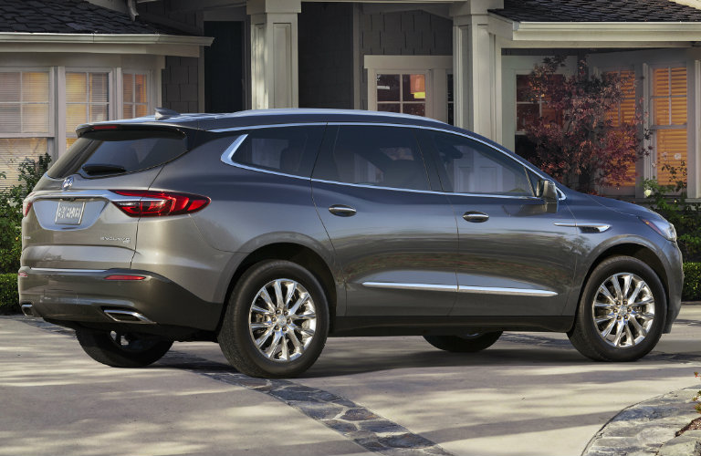 2018 buick enclave features make it a great family suv. Black Bedroom Furniture Sets. Home Design Ideas