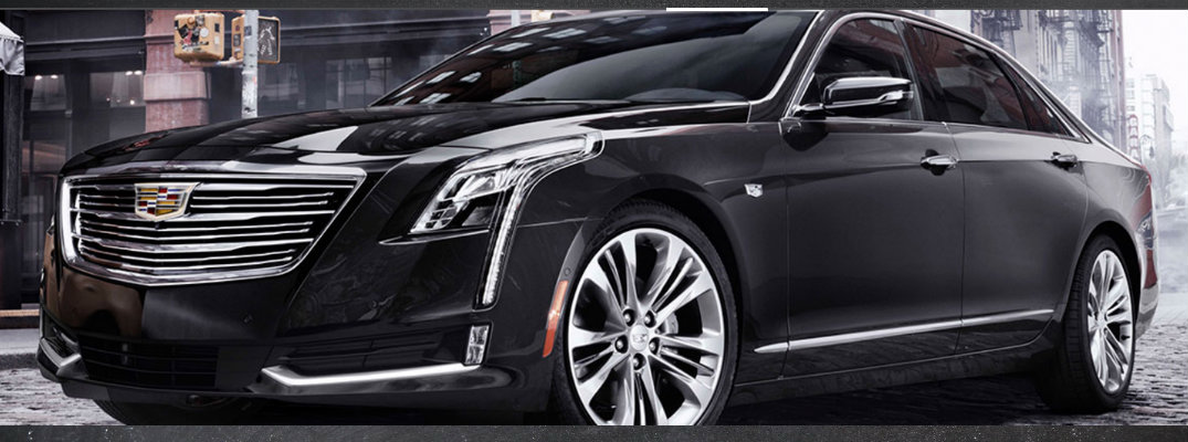 2018 Cadillac CT6 Sedan Standard Features