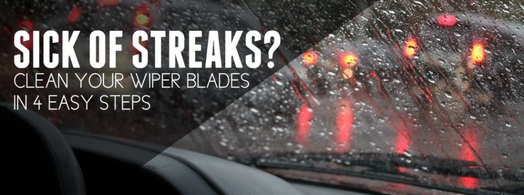 how to fix streaking on vehicle windshield. Black Bedroom Furniture Sets. Home Design Ideas