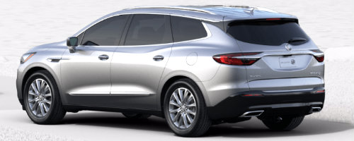 Quicksilver Metallic 2018 Enclave