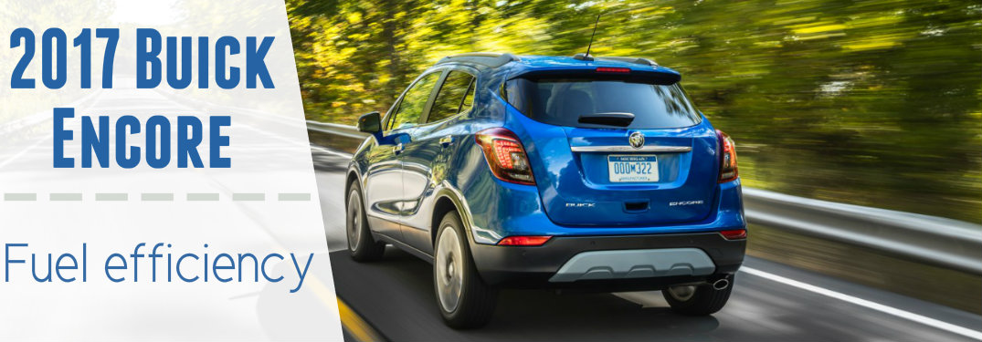 How far can I go in the Buick Encore?
