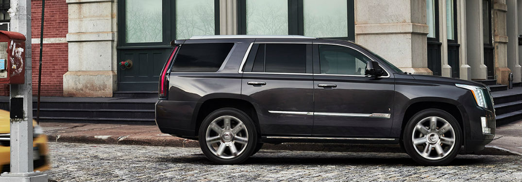 2017 Cadillac Escalade Color Options