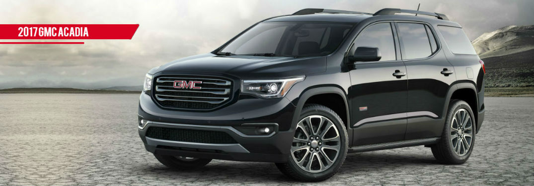 Check out the 2017 GMC Acadia!