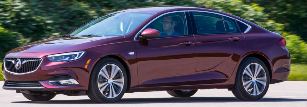 What trim levels are available on the Buick Regal Sportback?