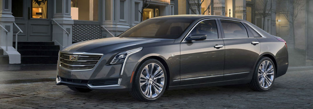What colors does the 2018 Cadillac CT6 come in?