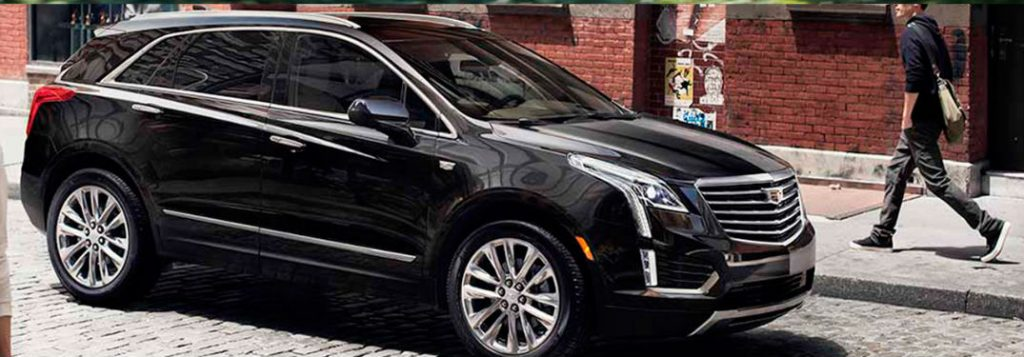 2018 Cadillac XT5 Color Options
