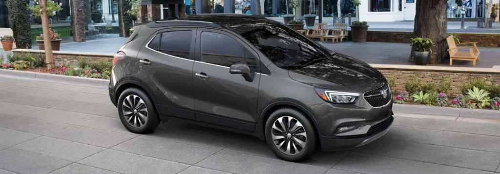2017 Buick Encore Color Options