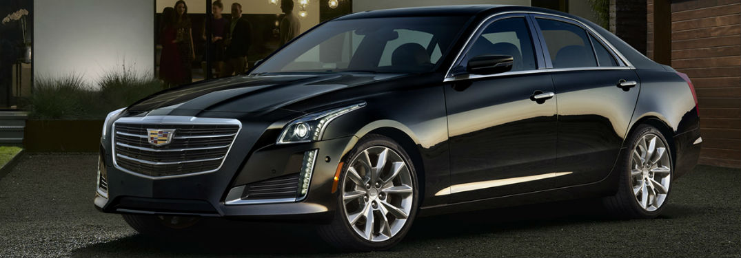 What colors does the Cadillac CTS come in?