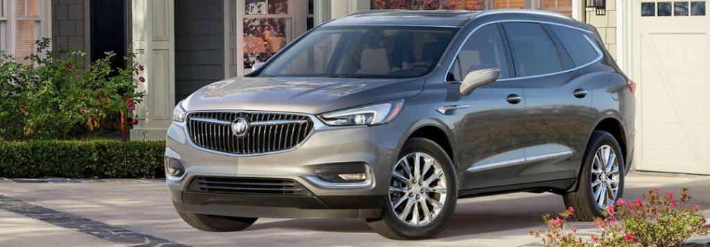 Buick Enclave Seating Capacity >> 2018 Buick Enclave Passenger And Cargo Space