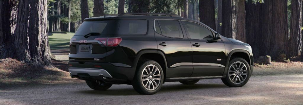 2018 GMC Acadia Passenger and Cargo Space