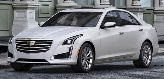 2017 Cadillac CTS Crystal White Tricoat
